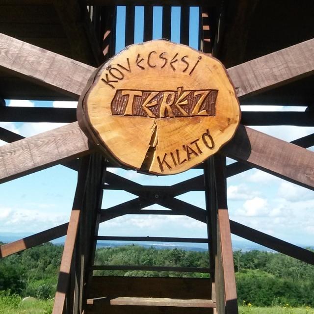 "Belvedere ""Teréz"" on the peak of Kōvecses"