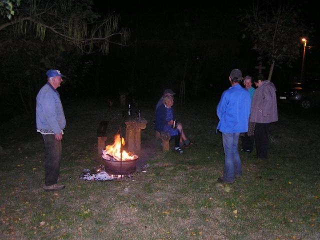 Csesztvén leégett a Szent Mihály napi őrtűz