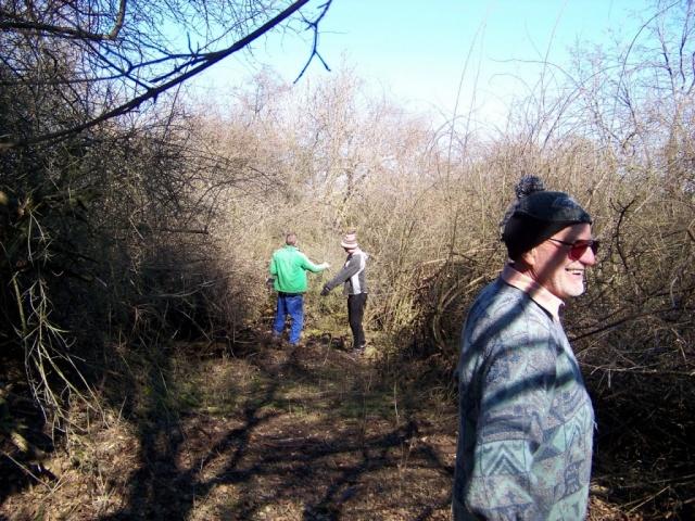 Tavaszi ösvénytisztítás